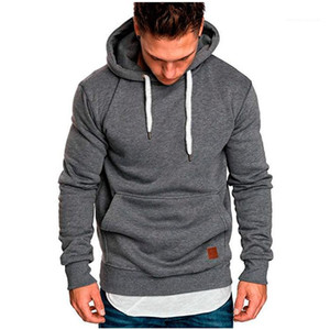 Hoodies Skateboard Long Sleeve Drawstring Hooded Sweatshirt Male Loose Pocket Hoodies Mens Autumn Pullover