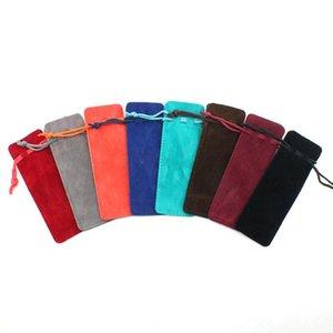 Gioielli Cosmetic Bag colorato monili del velluto con coulisse Borse Velvet Pocket Profumo stuzzicadenti Rossetto Gift Bag Bag DHC1800