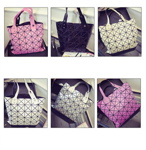 New Fashion Women Pearl Bag Diamond Lattice Tote Geometry Quilted Handbag Geometric Mosaic Shoulder Bag free shipping