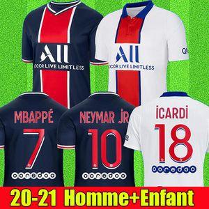 20 21 Maillot Lyon 2020 2021 Olympique Lyonnais Fußballtrikot Maillot de foot OL Fußballtrikots TRAORE MEMPHIS Männer Kinder Kits Ausrüstung