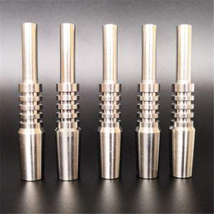 Titan Tip Nectar Collector Tip Titan-Nagel Männlich Joint Micro NC Kit Inverted Nägel Länge 40mm Ti-Nagel-Spitzen Shisha 10mm 40mm