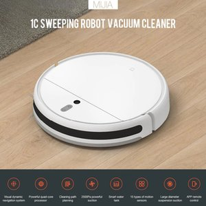 XIAOMI Mijia روبوت 1C مكنسة كهربائية لمي الرئيسية التلقائي الغبار تعقيم التطبيقات تحكم الذكية تجتاح التطهير الأنظف