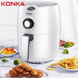 [European Regulations] Konka Air Deep-Fried Pot Home Smokeless Oil-Free Chips Machine Multi-Function Smart Oven
