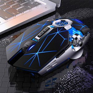Gaming Mouse 2.4G rato sem fios silencioso recarregável 1600 dpi mouse para PC desktop Gamer Laptop