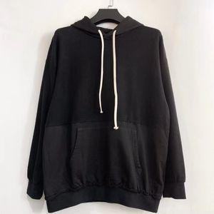 Calle hip-hop 20ss letra niebla de dios essentials envío alto impresión moda sudadera con capucha costuras libre suéter casual calle jersey fe febx