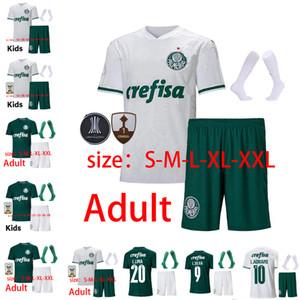 2020 2021 Palmairas Green Dudu G Jesús Fútbol Jersey Hogar alejado Alecsandro Allione Cleiton 20 21 Brasil Hombres y niños + Socks Football Jersey