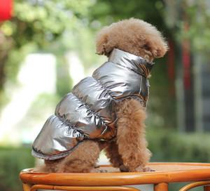 Vêtements d'hiver Pet Dog Gilet coupe-vent vers le bas veste matelassée chiot petits chiens vêtements chauds Chihuahua Outfit Gilet Yorkie Apparel Pet Supplies