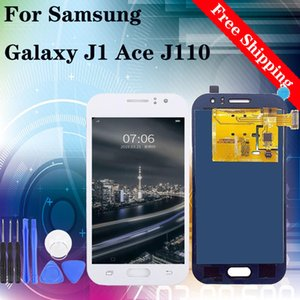Super AMOLED HD for Samsung Galaxy J1 2015 J110 J1 Ace LCD Display Digitizer Assembly Screen Replacement 100% Tested free shipping