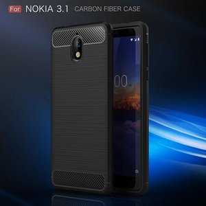 Cgjxs 10pcs Casi Per Nokia2 0,1 Copertura di lusso morbido TPU per Nokia3 .1 Backcover Per Nokia5 .1 trasporto libero di caso