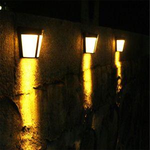parede Solar lâmpada de luz da noite Solar lanterna de parede exterior arandela Solars Outdoor Led Light 3000K 6000K RGB IP 65 levou
