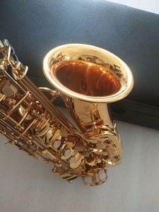 Nouvelle meilleure qualité d'or Alto YAS-875EX Japon Marque Alto saxophone instrument de musique E-Flat avec Embouchure