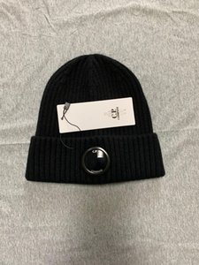 CP COMPANY beanies men autumn winter thick knitted skull caps outdoor sports hats women beanies black grey
