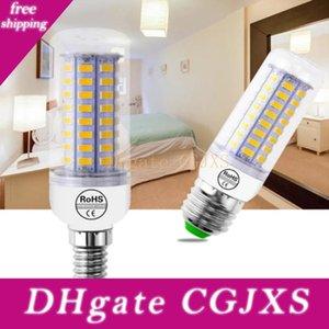 Cubierta iluminación de bulbo de lámpara LED bombilla del maíz del bulbo de la vela de la lámpara de luz para la decoración casera Jk0544