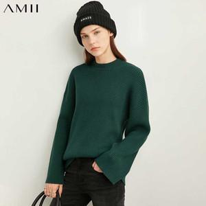 Amii faul Luft yme Mode-Pullover Frauen 2020 Winter neue beiläufige lose sitzende Pullover 11.920.217