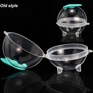 Silikon Yuvarlak Buz Hokeyi Kalıp Yaratıcı Plastik Whisky Kokteyl Ice Cube Topu Makinesi Kalıp Mutfak Bar İçme Malzemeleri AAD1977