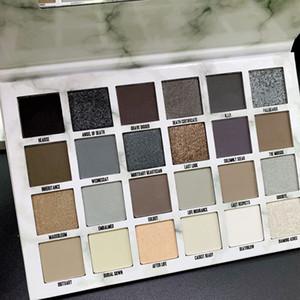 Новейший Пять звезд кремировали Eye Shadow Palette 24 цвет кремировали Eyeshadow Nude Shimmer Матовый макияж палитра теней для век высокого качества