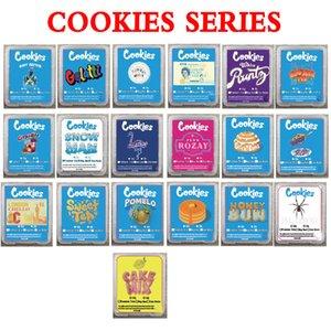Cookies Jungle Garçons Runtz Balla Baies Cire Cire Centrée Briser Emballage Plastique SD Card Etui Case Premium Coup de Premium Caval Run Live Résine