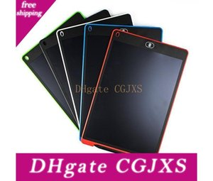 8 0.5 인치 액정 쓰기 태블릿 필기 패드 디지털 드로잉 보드 그래픽 종이없는 메모장 지원 화면 지우기 기능 5 색