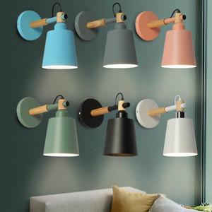 객실 복도 호텔 벽을 살고 간단한 창조적 인 벽 빛 LED 침실 머리맡 장식 북유럽 디자이너 Holtel 복도 램프 램프