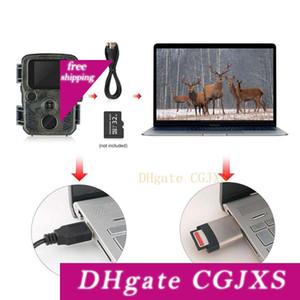 Foto -Trap Câmaras de imagens térmicas para a caça Escoteiro Mini Camera Chasse 12MP 1080p Night Vision Wildcats Hunting Camera Armadilha Com Lcd