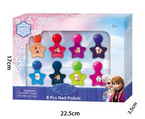8 Маленькая бутылка для ногтей Оптовая продажа косметические сумки All Face Makeup Makeup Kit для девочек 5+