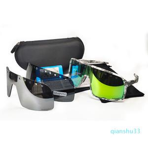 Großhandels-Neuer Stil Sutro polarisierte Sonnenbrille Frauen Männer Straße cyclel Brillen Outdoor-Brillen Sonnenbrillen Sportfahrrad Glas Radfahren