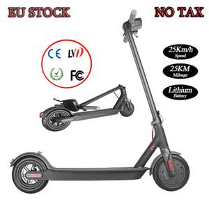 Pas de taxes ! UE Stock! Livraison gratuite ! En stock Nouveau design de haute qualité électrique Scootee 7.8Ah batterie relevable Scooter 25KM chaud à longue portée