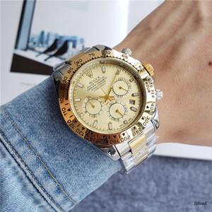 Alta qualità mens orologi di lusso di marca nuovo orologio di design business in acciaio inox moderno orologio da polso TAG regalo di Natale Relógio r