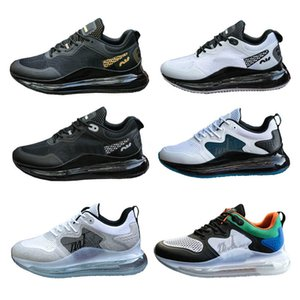 Хорошее качество 2019 мода зима новых мужчин дизайнер обуви спорта на открытом воздухе кроссовки платформы тройной Gym тренер кроссовки 40-45 черный