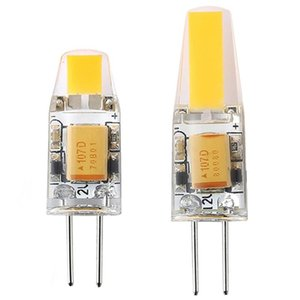 10PCS COB LED G4 Lamp Dimmable 3W 6W AC DC12V Bulbs Light Replace Halogen Crystal Chandelier Lights