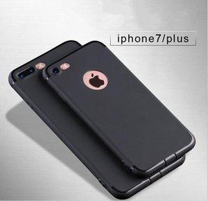 cgjxs souple durable Tpu Matte Anti Anti antirayure Scratch -Fingerprint antichocs Phone pour iPhone 7 7 Plus 6 6s plus