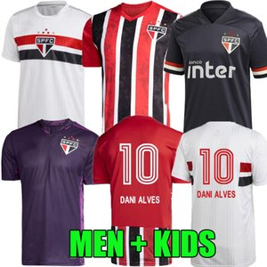 2020 футбол Джерси 2021 Сан-Паулу ТРЕТИЙ Сан PATO 20 21 Juanfran Пабло Dani Alves Камиза де Futebol вратарь мужчины женщины дети футбол рубашка