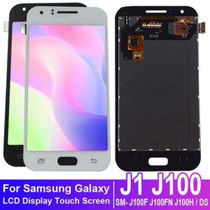 Samsung Galaxy J1 J100 SM- J100F J100FN J100H / DS LCD Ekran Dokunmatik Ekran Sayısallaştırıcı Meclisi için Samsung Galaxy J1 J100 için