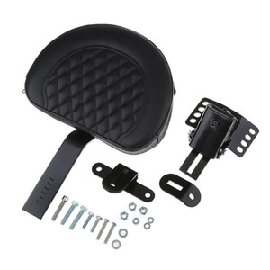 Motorcycle Front Driver Rider Backrest for Touring 1997-2020, Automotive Sissy Bars Back Pad