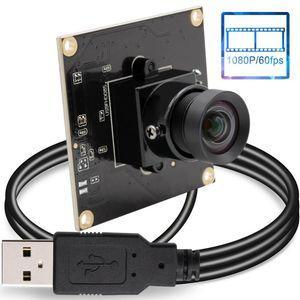 ELP Null Distortion Weitwinkel Webcam HD 1080P CMOS OV4689 Mini Driverless High Speed 60 120 260fps Kameramodul USB2.0