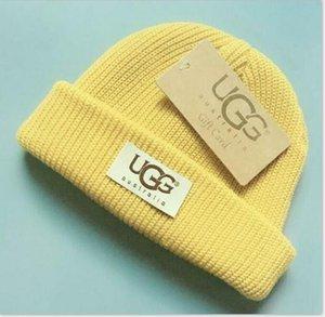 Buena calidad beanies sombrero hecho Diseñador calientes Campeón de invierno gruesos Beanie cráneo Bonnet sombreros para los hombres las mujeres ganchillo Esquí 3f