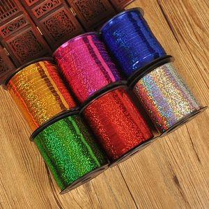 250 Tamaño de la cinta del regalo de la cinta del globo distribución de la sala de bodas rollo de láser de código de globo
