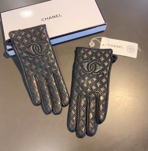2020 neue Frauen hochwertigen gestickten Schaffell warme gloves7
