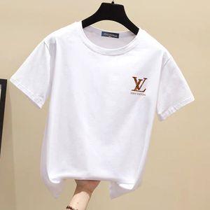 venta caliente mujeres del diseñador que mujeres de la camiseta corta impresa SleeveTee para las camisetas de las camisas ocasionales de las mujeres de los hombres de verano
