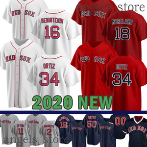 Gewohnheit 2020 New Red Sox Dustin Pedroia Xander Bogaerts David Price Mookie Betts Holt Christian Vazquez Mitch Moreland Jackie Bradley Pearce