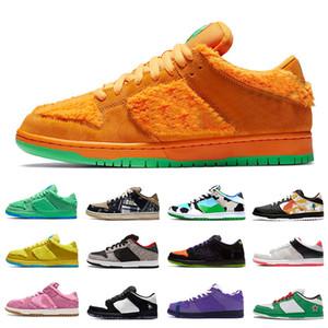 Grateful Dead X Nike SB DUNK Orange Bear Ben & Jerry's Chunky Dunky Low Zapatillas de deporte deportivas para hombre Dunks Pigeon Safari Shadow mujeres hombres zapatos para correr