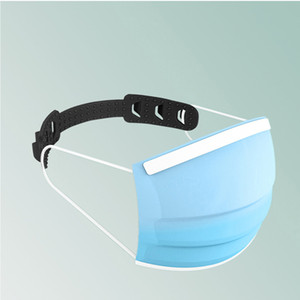 Adjustable mask buckle 1 piece non-slip protection PE earache care strap (random color)
