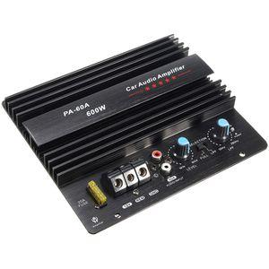 Усилитель Board Прочный Lossless 12V 600W PA-60A Динамик сабвуфера Bass Module High Power Car Audio аксессуары Mono Channel