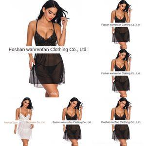 RPXHN Lace Suspender black sexy cheongsam jupe sexy col V sous-vêtements Élingue sous-vêtement sans manches maille jupe à bretelles en perspective