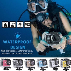 Sport Action Camera Outdoor 30M Waterproof 720P HD Mini Underwater Cameras Video Recording Helmet Extreme Professional Cam