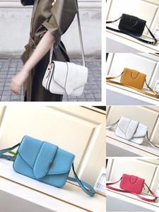bolso del bolso cartera bolsas de alta calidad bolso crossbody auténtica estrella de cuero bandolera mismo estilo de moda Color cinco