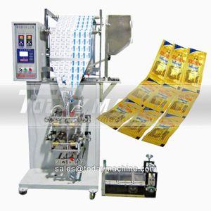 Автоматическая вертикальная гранула Упаковочная машина YB-2818k- 4 мульти LANES пакетика сахара палочка упаковочная машина