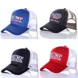 Donald Trump Hat 2020 Mantenga al por mayor al por mayor de la gorra de béisbol ajustable de los sombreros de gran camuflés de América # 950
