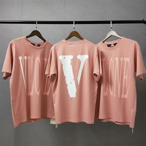 Vlone Frauen Shirts T-Shirt Männer Frauen Hip Hop-Frauen-T-Shirt Vlone Buchstabe gedrucktes Frauen-T-Shirt T-Shirts Größe S-XL