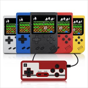 Mini Handheld game consoles portable can store 400 games Children birthday gift Children fun toy Colorful 2 players